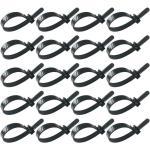 100 Pcs Attaches De Câble Réutilisable Mode Durable Réglable Zip Cravates Cordons Sangles Poussette De Marche - Chariot De Marche