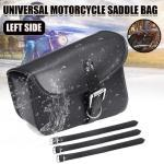 1x Universal Sacoche De Moto Sac À Outils Latéral Pour Harley Honda Gauche Gr55208