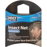 360 Degrees - Mosquito Insect Head Net - Moustiquaire - One Size - black
