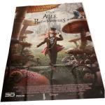 Affiche originale Alice aux pays des merveilles