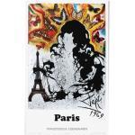 Affiche Paris par Salvador Dali