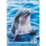 Agenda dauphin, 12x17cm, un jour par page