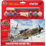 Airfix - Ai55213 - Maquette Avion - Pack De Démarrage - Boulton Paul Défiant