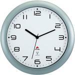 Alba HORNEWRC M Horloge Silencieuse Radio Contrôlé Gris Métal 30 x 5,5 x 30 cm