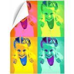 Amikado Affiche Pop Art portrait 4 photos