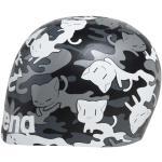 arena Poolish Moulded Cap, noir/gris 2021 Bonnets de bain