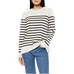 """Armor Lux, Pull Marin """"Paimpol"""" Femme, Multicolore, 3 (Taille Fabricant: 3)"""