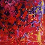Art Abstrait Peinture Abstraite Tableau Paysage Contemporain Moderne Décoration Maison Original