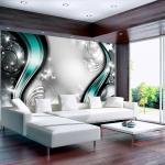 Papiers peints artgeist turquoise