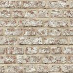 Arthouse Papier Peint en Vinyle Motif Brique Rustique