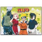 Artopweb EC20239 MASASHI Kishimoto - Naruto, Bois, Multicolore, 100x70x1,8 cm