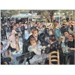 Artopweb EC20246 Renoir - Au Mulin de la Galette, Bois, Multicolore, 40x30x1,8 cm