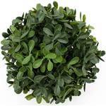 artplants.de Boule de buis Artificiel Fritz, Grille Plastique, Ø 10cm - Plante Artificielle buis - buxus déco