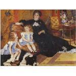 ArtPlaza Renoir Pierre-Auguste-Madame Charpentier and Her Children Panneaux Decoratifs, Bois MDF, Multicolore, 80x60 Cm
