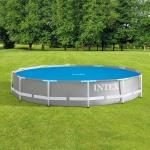 Bâche à bulles pour piscine Jardin Diam. 3,66 m