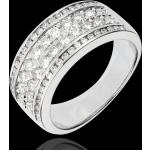 Bague Constellation - Cosmos - 62 diamants - or blanc 18 carats