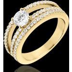Bague de Fiançailles Destinée - Duchesse - or jaune 18 carats - diaman