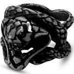 Bague Le Cobra en acier Jax