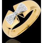 Bague Noeud Amélia or jaune 18 carats
