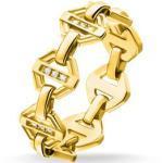 Bagues Thomas Sabo jaunes en diamant 18 carats pour femme