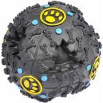 Balle pour Chien Distributeur de Croquettes 10cm Noir - Paris Prix