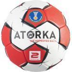 Ballon de handball femme H900 T2 rouge/blanc - ATORKA - TAILLE UNIQUE