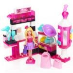 Barbie Build'n Style - Barbie ''Magasin d'accessoires de mode'' Mega Bloks