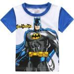 [Bleu Batman-200004890-7t] T-Shirts À Manches Longues Pour Enfants Batman, Films De Superman Impression Garçons, Vêtements Pour Filles