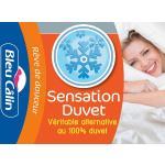Bleu Câlin Couette Sensation Duvet 500 g/m² 140x200 - 200x200 - 220x240 - 240x260 - KSD50J