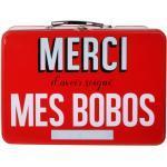 Boîte à Pharmacie Ma Boîte à Bobos 26cm Rouge - Paris Prix