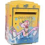 Boîte aux lettres vintage par Zenoy Street Art 3 D Graff Peinture Panthère rose