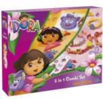 Boite d'activités DORA - création de colliers & bracelets + perles à repasser Nickelodeon
