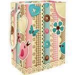 Boîte de rangement Fleurs, oiseaux et papillons Panier à Linge de Rangement Panier à Linge Pour Vêtements Sales Panier à Linge Pliable 49x30x40.5cm