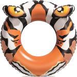 Bouée gonflable crododile / tigre Bestway Ø 91cm Tigre