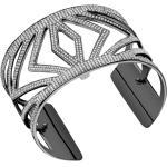 Bracelet Chevrons Laiton Finition Ruthenium 40 mm