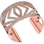 Bracelet Les Georgettes Les Précieuses 70276904008000 - Bracelet Chevrons Laiton Finition Or Rose Femme