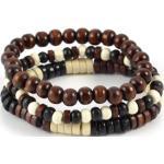 Bracelet marron multiple charme