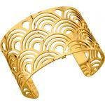Bracelet Poisson Les Georgettes 70261580100 - Bracelet Manchette Or Taille Large Femme