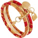 Bracelet trio wax (rouge) - Shabada
