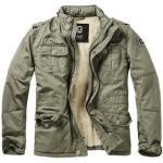 Vêtements Brandit kaki à col montant look militaire pour homme
