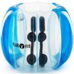 Bubble Ball Football gonflable pour enfants 75x110cm PVC EN71P - bleu