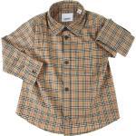 Burberry Chemises Bébé pour Garçon, Archive Beige, Coton, 2021, 12 M 18M