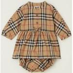 BURBERRY Set bébé Elaine avec robe chemisier et culotte