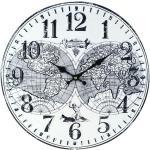 By Sigris Horloge Murale 40 Cm. Adorno Mur Montres Collection Planisphère Signes Grimalt Decor And Go
