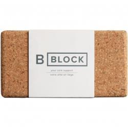 BYoga - B Block 3' - Bloc de yoga - 8 cm - cork