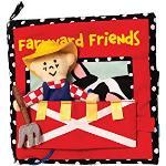 Cahier d'activités mous de Manhattan Toy Farmyard Friends