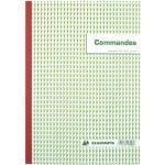 Cahier de commande Manifold Exacompta autocopiant A4 50 pages triple exemplaires