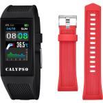 Calypso Montre Connectée Mixte Digital Smartime Silicone Noir K8501/4