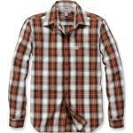 Chemises Carhartt rouges pour homme en promos