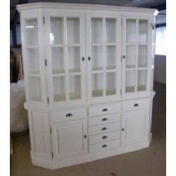 Casa Padrino Shabby Chic Cottage Style Buffet Cabinet Cabinet 200cm Modf6 - Dining Room Cabinet